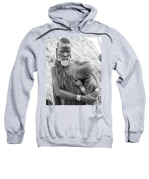 Mursi Mother And Child Sweatshirt