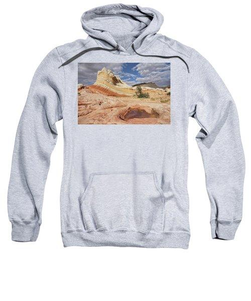 Sweeping Structures In Sandstone Sweatshirt
