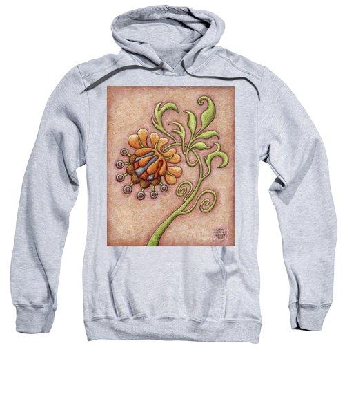Tapestry Flower 10 Sweatshirt