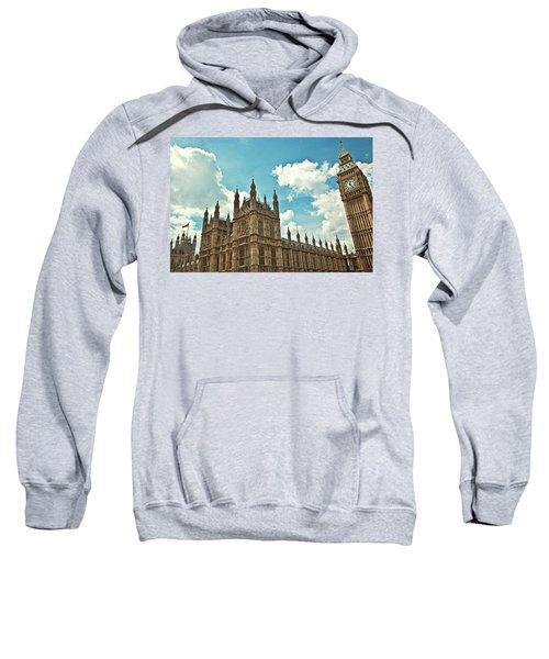 Tea Time With Big Ben At Westminster Sweatshirt