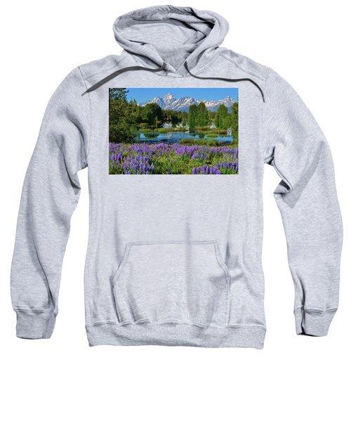 Tetons And Lupines Sweatshirt