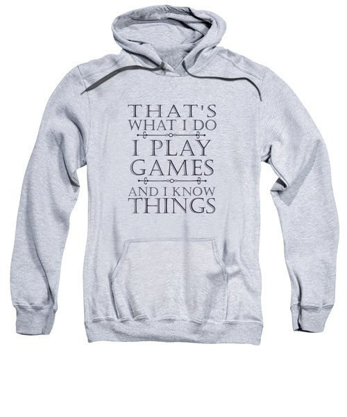 That's What I Do Game T-shirt Funny Video Games Gift Top Tee Sweatshirt