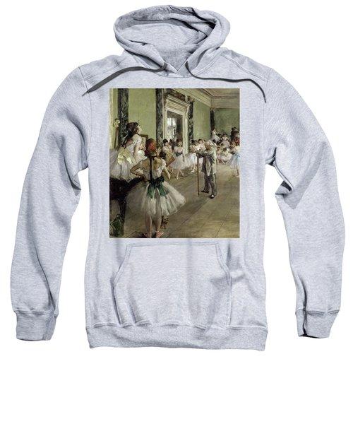 The Ballet Class, 1874 Sweatshirt