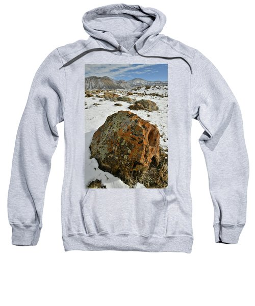 The Book Cliff's Colorful Boulders Sweatshirt