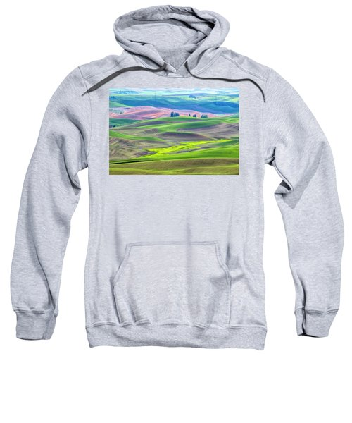 The Color Palette Of The Palouse Sweatshirt