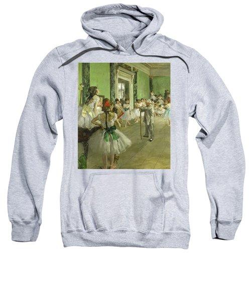 The Dance Class, Circa 1874 Sweatshirt