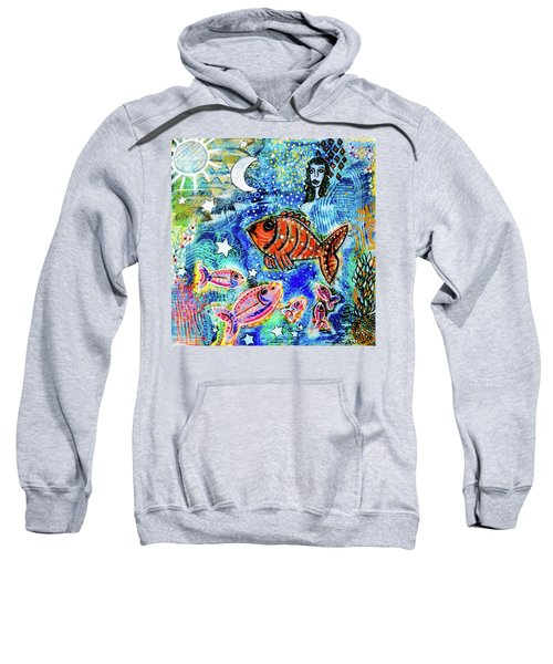 The Day The Stars Fell Into The Ocean Sweatshirt
