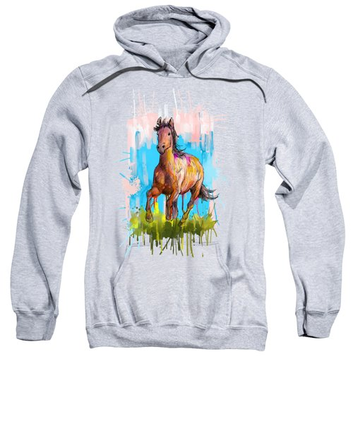 The Earth Horse  Sweatshirt
