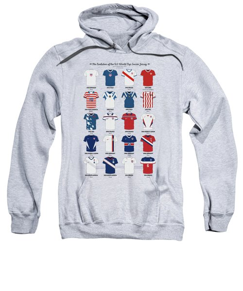 The Evolution Of The Us World Cup Soccer Jersey Sweatshirt