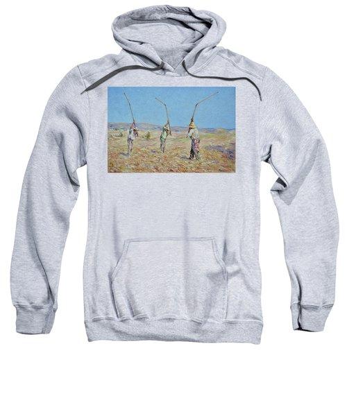 The Haymakers - Pierre Van Dijk 70x90cm Oil Sweatshirt