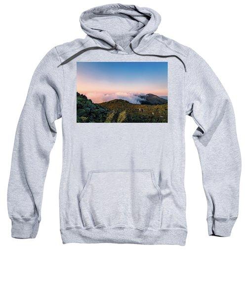 The Hiker - Mt Jefferson, Nh Sweatshirt
