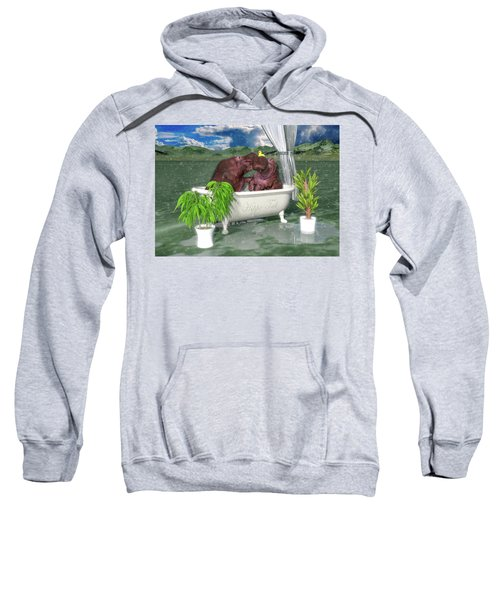 The Hippo Tub Sweatshirt