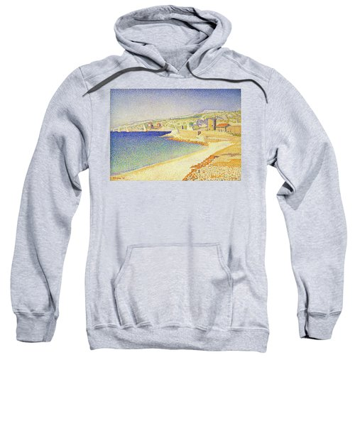 The Jetty At Cassis - Digital Remastered Edition Sweatshirt
