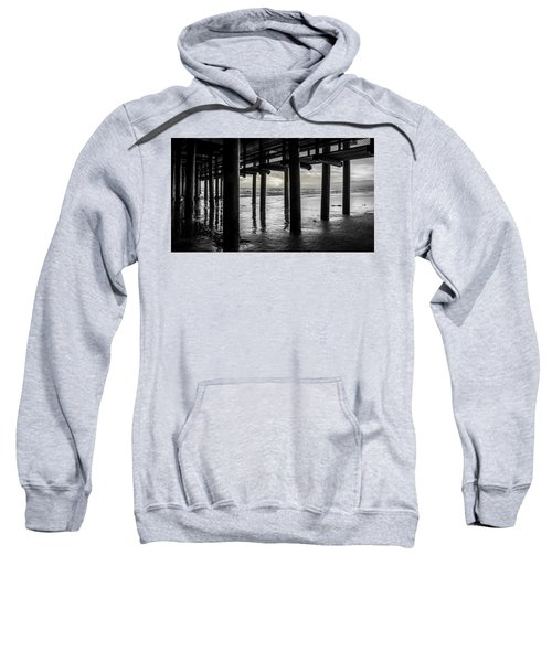 The Light Downunder - B And W Sweatshirt