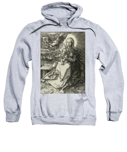 The Madonna Crowned By An Angel, 1520  Sweatshirt