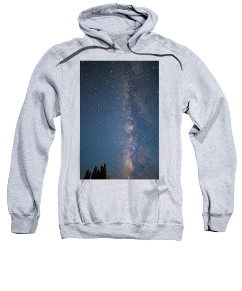 The Milky Way In Arizona Sweatshirt