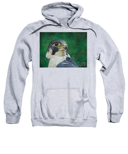 The Proud Peregrine....fastest Creature On The Planet Sweatshirt