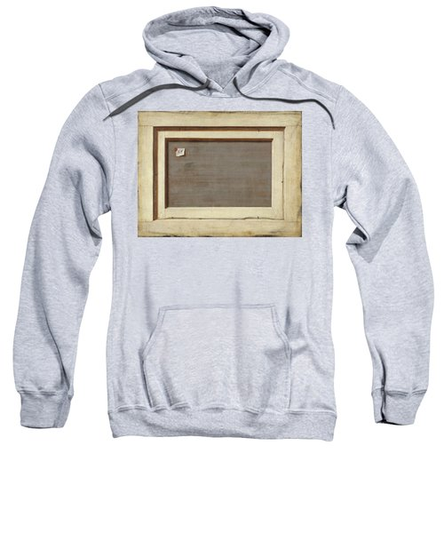 The Reverse Of A Framed Painting Sweatshirt