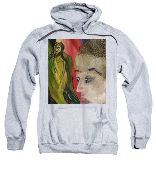 The Sexy Man With The Watery Blue Eyes Sweatshirt