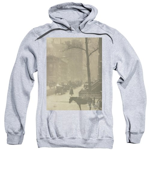 The Street, Design For A Poster Sweatshirt