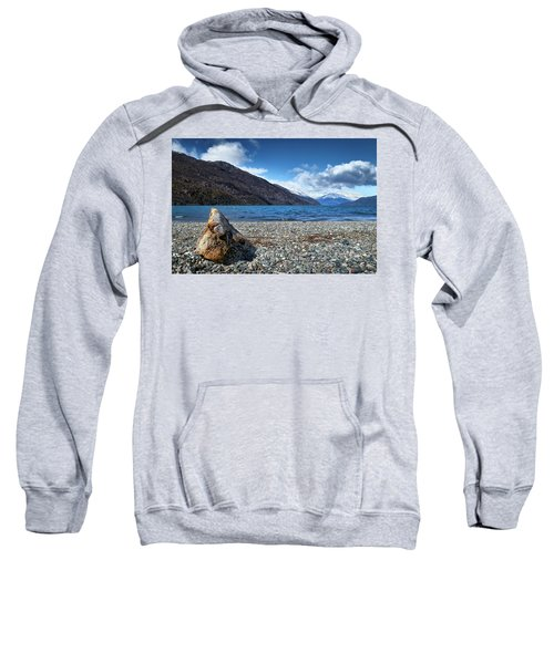 The Puelo Lake In The Argentine Patagonia Sweatshirt