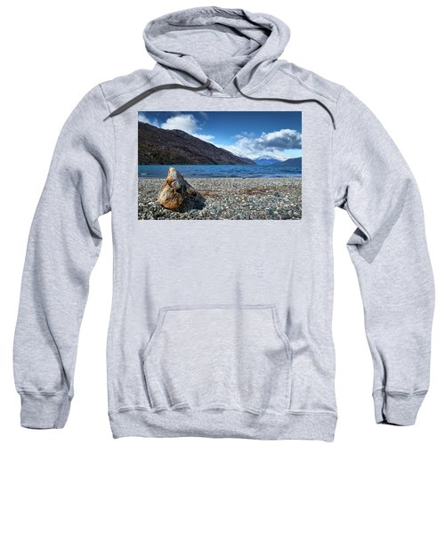 The Trunk, The Lake And The Mountainous Landscape Sweatshirt