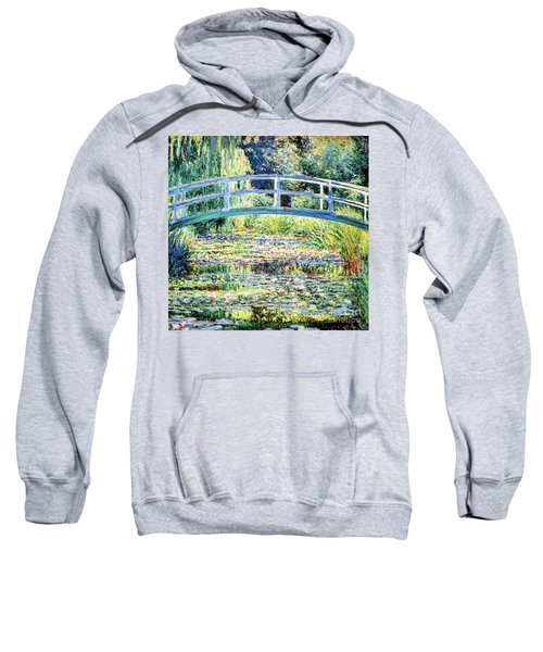 The Water Lily Pond By Monet Sweatshirt