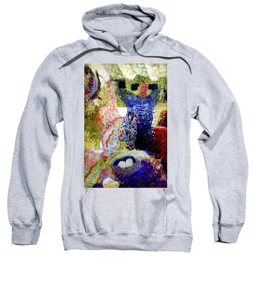 The Word Was Made Flesh The Egg And I Sweatshirt