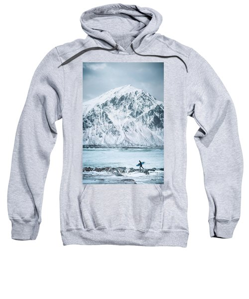 To Ride The Arctic Waves Sweatshirt
