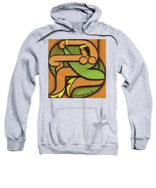 Tommervik Dancing Hawaiian Hula Girl Art Print Sweatshirt