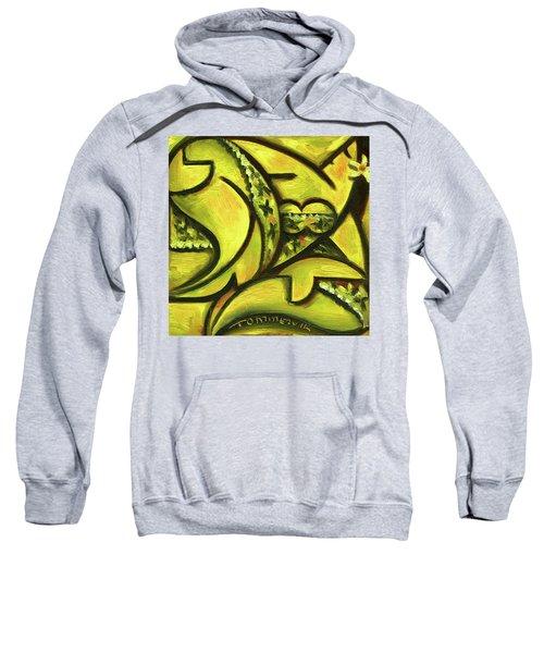 Tommervik Hawaiian Woman Wearing Fancy Dress Art Print Sweatshirt