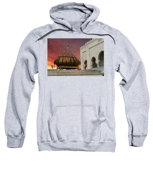 Traditional Outdoor Lighting Urn, Mausoleum Sweatshirt