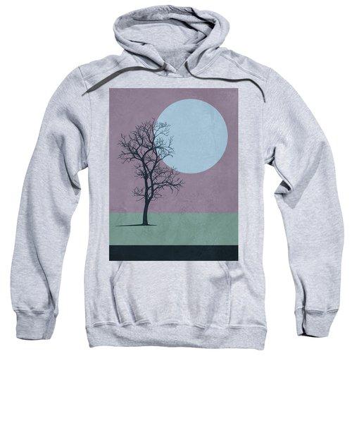 Tree And The Moon Sweatshirt
