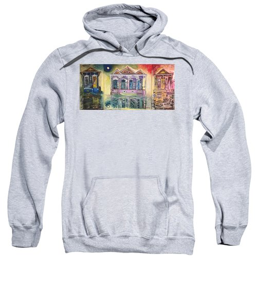 Tryptic On The Bayou New Orleans Sweatshirt