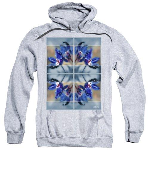 Tulips Of Stained Glass Sweatshirt