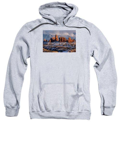 Turret Arch Winter Sunset Sweatshirt