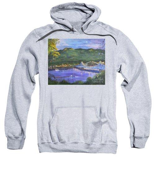 Twilight At Blue Bridges Sweatshirt
