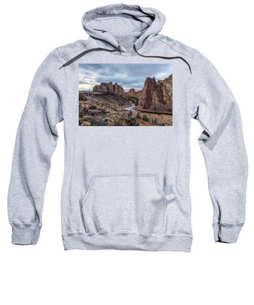 Twilight At Smith Rock State Park Sweatshirt