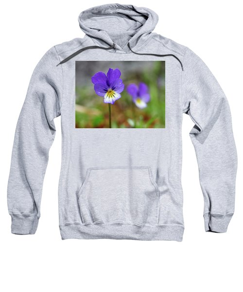 Two Of A Kind. Jack-jump-up-and-kiss-me. Wild Pansy Sweatshirt