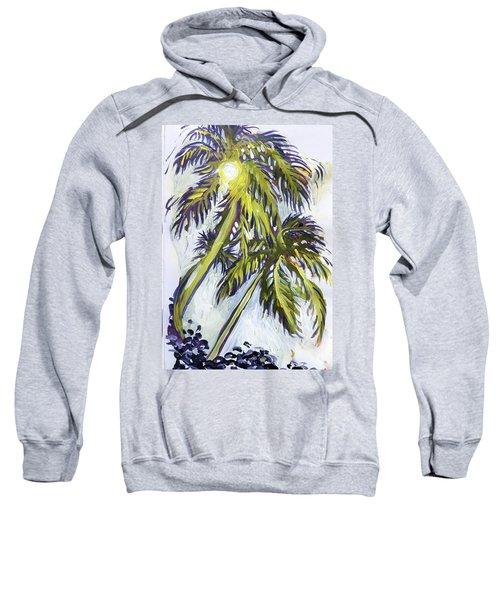 Two Palm Sketch Sweatshirt