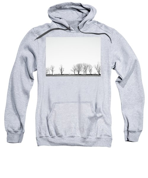 Under A Winter Sky Sweatshirt