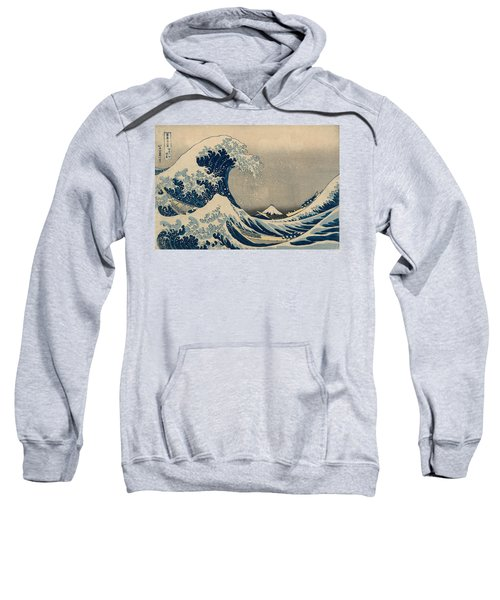 Under The Wave Off Kanagawa, Also Known As The Great Wave Sweatshirt