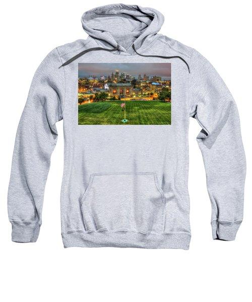 Union Station Sunrise Kansas City Missouri Art  Sweatshirt