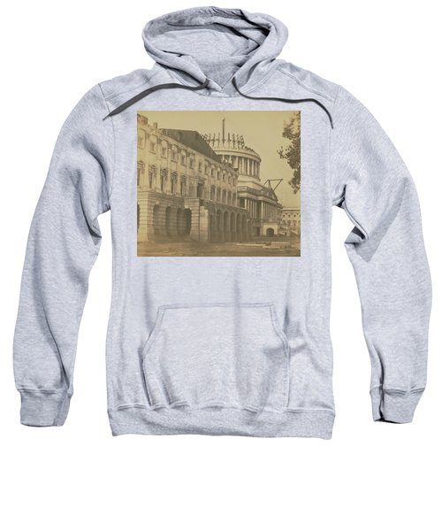 United States Capitol Under Construction Sweatshirt