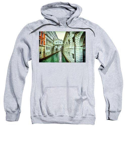 Venice Bridge Of Sighs Sweatshirt