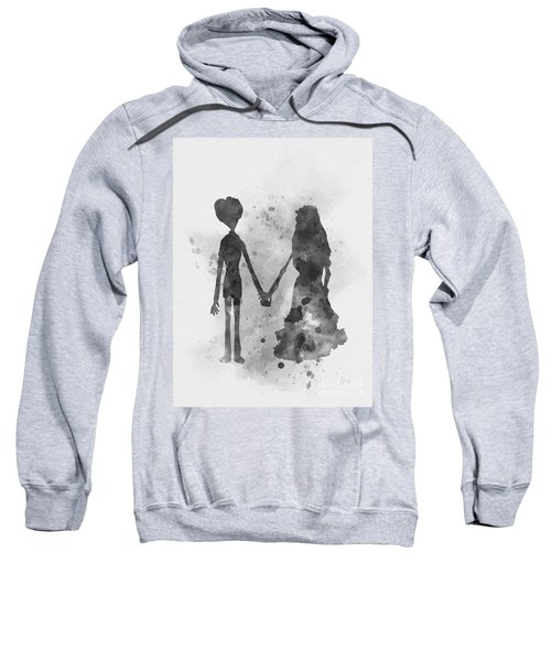 Victor And Emily Black And White Sweatshirt