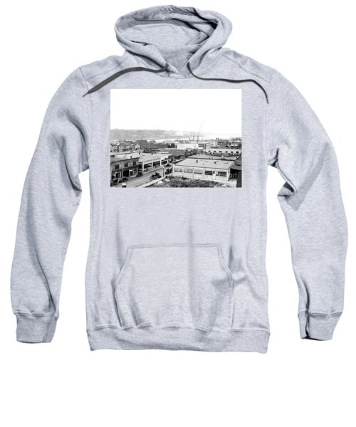 View Nw Over Olympia From Elks Building On Capitol Way 1929 Sweatshirt
