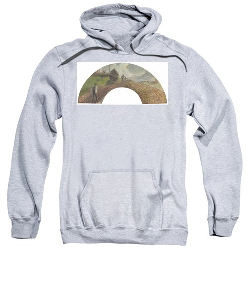 View On The Fields Ploughing And Sowing, 1879 Sweatshirt