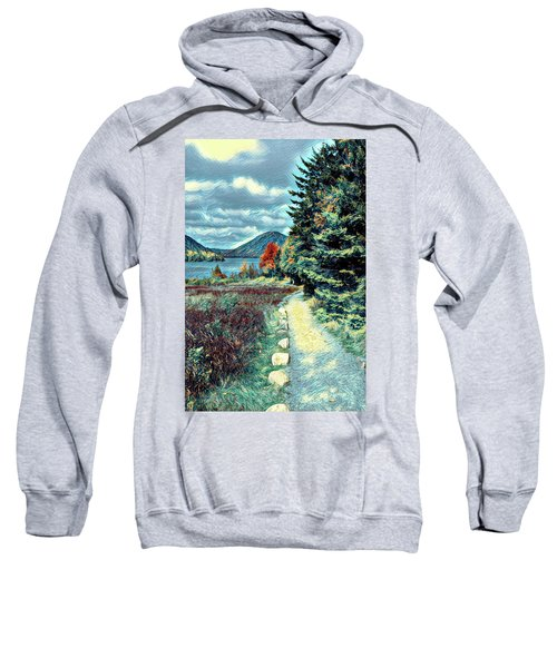 Vincent Does Acadia Sweatshirt