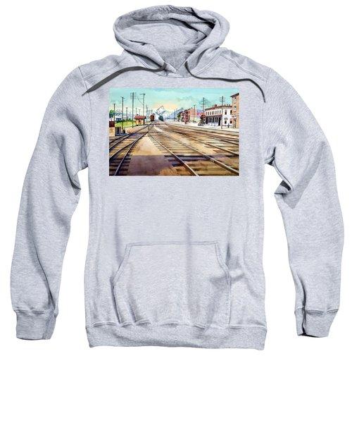 Vintage Color Columbia Rail Yards Sweatshirt